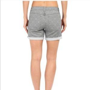 Prana gray Kara denim short size 2 preowned